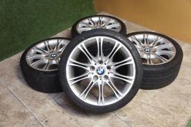 "Genuine BMW 3 Series 18"" MV2 Alloy wheels 5x120 E46 E36 Z3 Z4 Alloys"