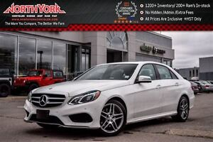 2015 Mercedes-Benz E250 Loaded BlueTEC|4Matic|Prem,AMG PKGs|Nav|