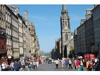 Royal Mile and Old Town. Short holiday/business rental