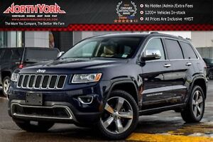 2015 Jeep Grand Cherokee Limited|4WD|Tow Pkg|Sunroof|Nav|RearCam