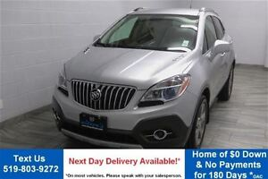 2013 Buick Encore CX w/ PARTIAL LEATHER! POWER SEAT! CRUISE CONT