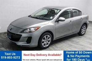 2013 Mazda MAZDA3 GX SEDAN! POWER PACKAGE! NEW BRAKES!