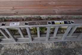 LADDER FOR SALE - Youngman Trade 350 3 metre extending metal ladder