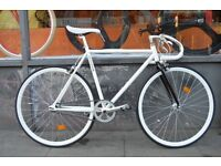 Brand new single speed fixed gear fixie bike/ road bike/ bicycles + 1year warranty & free service c9