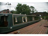 45ft Narrowboat Bunbury ecxeptional condition