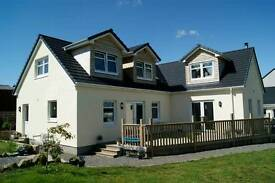 Country property in Ayrshire. 4 bedrooms