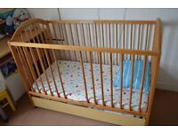 Cot Bed for baby - 120x60