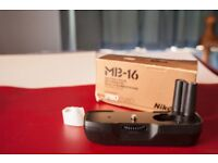 Nikon MB16 battery grip for F80 and silimar SLR's