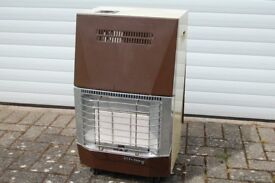 RADIANT PORTABLE CYLINDER GAS HEATER-EXCELLENT VALUE AND CONDITION