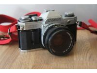 Canon AE-1 35mm SLR film camera Plus lenses