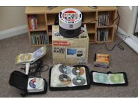 Karaoke Player/ Discs/ Mics, and Screen