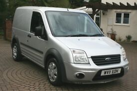 FORD TRANSIT CONNECT 2011, FULL SERVICE HISTORY, A/C, 12 MONTHS MOT , 120K MILES,