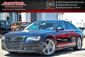 2012 Audi A8 Quattro Prem,Light,Cold Wthr Pkgs|Sunroof|Nav|BOSE