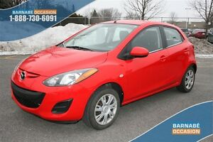 2011 Mazda MAZDA2 GX GROUPE COMMODITÉ CLIMATISEUR BAS KM!!!