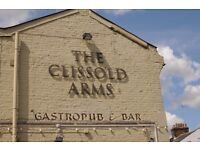 CLISSOLD ARMS EAST FINCHLEY - Part time bar/waiting positions available