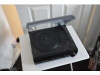 Two speed record player