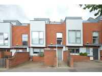 A modern three storey townhouse offering contemporary, spacious accommodation in Muswell Hill N10