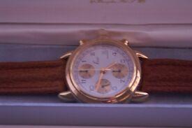 Fior Swiss automatic mechanical wristwatch - Goldplated - NOS -Circa 1997