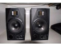 Adam A7 active studio monitors