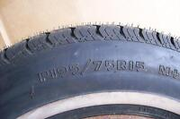 NEW TIRE -   P195/75 R15  on a used rim