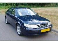 Saab 9-5Lpt.. 1 Lady Owner.. Very Low 33,594 Miles.. FSH.. Classic Model.. Must Be Seen.. Bargain..