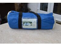 8 BERTH 3 ROOM DOME TENT NEW ~ NEVER USED IN ORIGINAL CARRY BAG