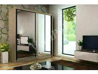 🔵💖🔴BEST QUALITY 💖🔴Def Sizes & Colors Berlin 2 Door or 3 Door Sliding Wardrobe / Shelves