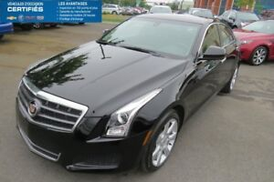 2014 Cadillac ATS SEDAN AWD Bluetooth ,traction integrale