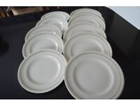 Dinner plates and Tea Plates 11 in total