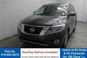 2013 Nissan Pathfinder 4WD PLATINUM! NAVIGATION! LEATHER! HEATED