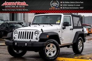 2017 Jeep Wrangler NEW Car Sport S|4x4|Manual|PowerConveniencePK