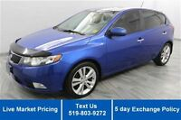 2011 Kia Forte5 SX HATCHBACK! 1 OWNER! SUNROOF LEATHER! BLUETOOT