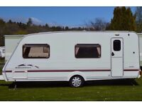 PRICE REDUCED!! 2004 Swift Charisma 6 Berth with fixed bunks / rear garage, with awning