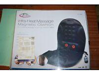 TecTake Massage Infra Heat magnetic seat cushion