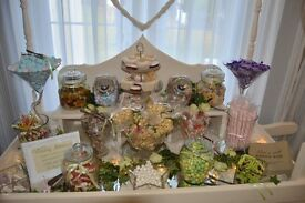 Sweet Cart candy cart for wedding hire from £50