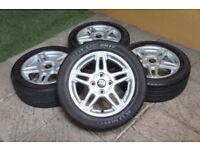 "Genuine FORD Fiesta 15"" Alloy wheels 4x108 MK6 MK7 MK8 MK9 Titanium Zetec Alloys"