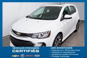 2017 CHEVROLET SONIC 5 LT GROUPE RS,TOIT OUVRANT