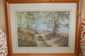 GLASS FRONTED WOODEN FRAMED PRINTS AS PHOTO'S £5.00 each