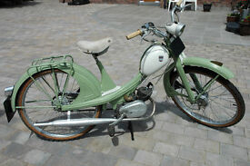 1950s(?) NSU Quickly N Moped
