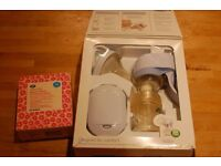 Philips Avent Single Electronic Breast Pump plus breastmilk storage bags