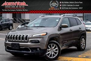 2016 Jeep Cherokee Limited|4x4|SafetyTec,Luxury,TechPkgs|RearCam