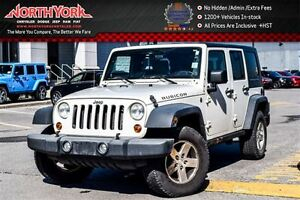 2008 Jeep Wrangler Rubicon|Manual|4x4|PowerConven,DualTopPkgs|Na