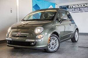 2012 Fiat 500C LOUNGE CONVERTIBLE**IMPECCABLE**