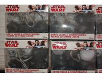 Star Wars Darth Vader and Stormtrooper helmet 3D Lights