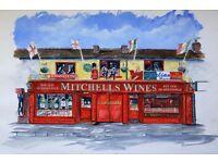 Mitchells Wine Merchants & Hop House Brewing - Sales Assitant