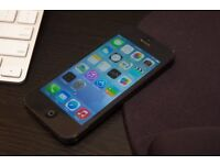 APPLE IPHONE 5 16GB SPACE GREY,UNLOCKED TO ORANGE T MOBILE EE VIRGIN,GOODN CONDITION WITH CHARGER