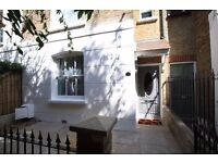 Stunning 4 Bed Mews House In Private Road To Rent Close To Fulham Broadway Tube Station