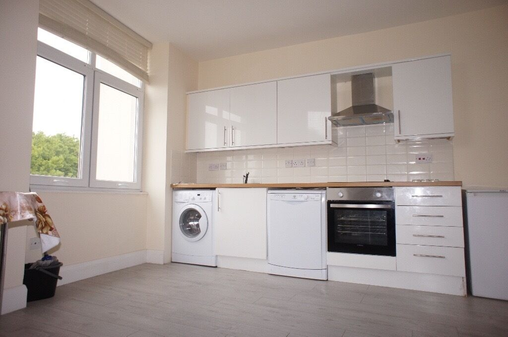 Large Bright 2 bedroom flat located minutes from Turnpike Lane tube and all local amenities .
