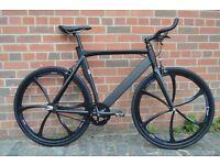 Brand new NOLOGO Aluminium single speed fixed gear fixie bike/ road bike/ bicycles 4h