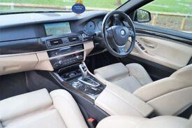 """BMW 530D 255bph Msport 8 Speed SatNav Full Leather 19"""" Rims Full Service Only 95K"""